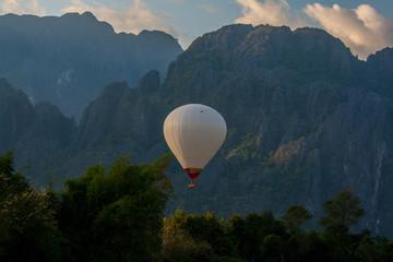 Air balloon in Lao