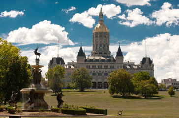 Hartford Connecticut Capitol Noon
