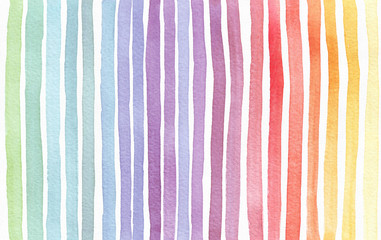 Gradient splattered rainbow background, hand drawn with watercolor ink. Seamless painted pattern, good for decoration. Imperfect illustration. Pastel bright colors.