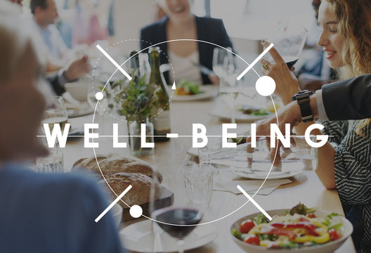 Well Being Exercise Health Nutrition Vitality Concept