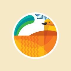 Creative Bird logo design