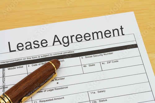 Applying for a Lease Agreement