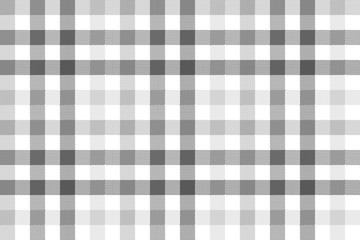 Gray check plaid seamless pattern