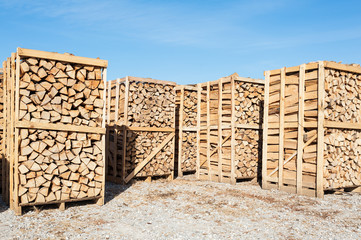 Wood complex for sale at the depot.