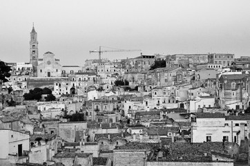 the stones of Matera, European capital of culture, Italy