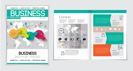 Magazine Layout Vector
