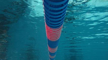 underwater in pool