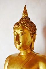 Buddha image : At a small museum of Wat Phra Si Rattana Mahathat. Phitsanulok Province.Thailand.exhibiting Buddha image of the Sukhothai and Ayuthaya era.