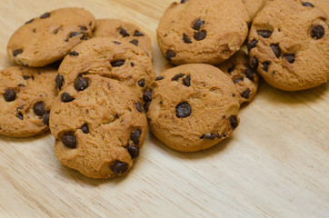 Butter Cookie with Chocolate Chips.