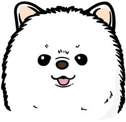 ポメラニアン(犬のイラスト)