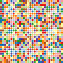 Abstract squares background. Vector background.