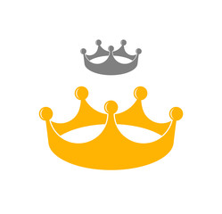 Crown. Vector illustration