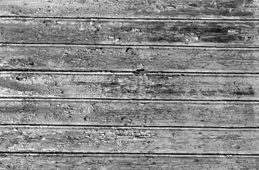 black and white weathered wood house wall
