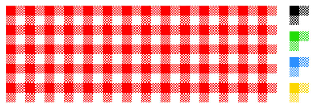 Vichy rouge - Red gingham