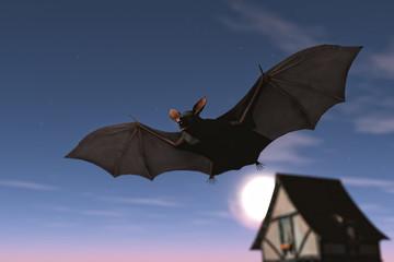 Bat / 3d render
