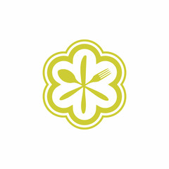 Michelin Star Hotel Chef Logo Icon