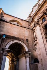 Dans la Cité du Vatican à Rome