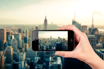New York dallo smartphone
