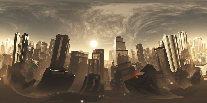 Sinister Mood Armageddon City VR 360