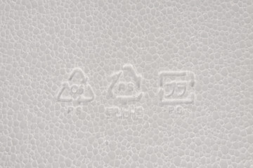 Polystyrol Symbole