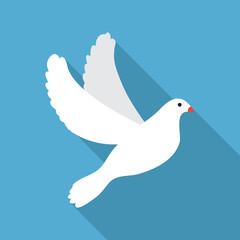 Flat Dove icon