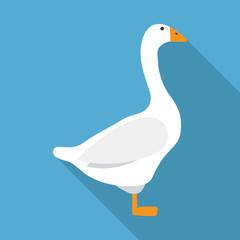 Flat Goose icon