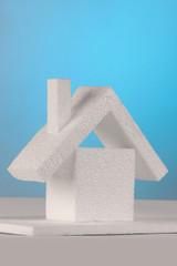Hausbau mit Dämmstoff aus Kunststoff