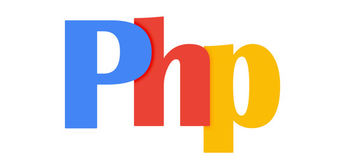 """PHP"" Vector Letters Icon"