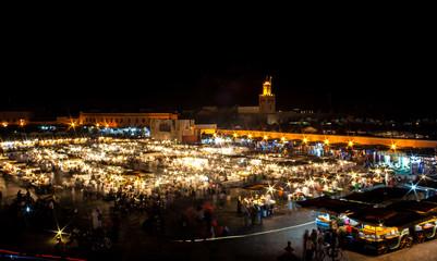 Jemaa el Fna by night