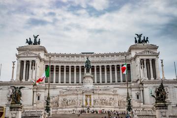 Le Monument à Victor-Emmanuel 2 à Rome
