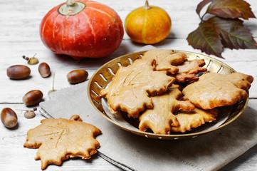Symbolic autumn cookies
