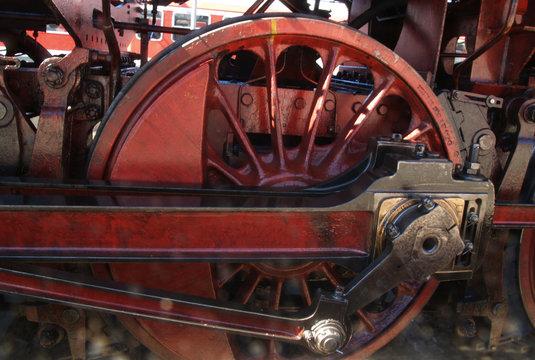 Dampflok Antriebsrad