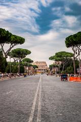 Dans les rues de Rome, Le Colisée