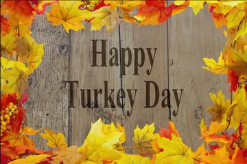 Happy Turkey Day Message