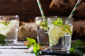 Delicious homemade lemonade