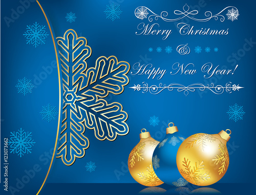 Celebration background for christmas and new year business blue celebration background for christmas and new year business blue christmas and new year background m4hsunfo