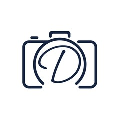 D photography logo design