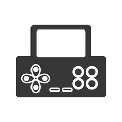 video game console portable vector illustration design