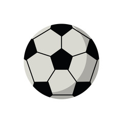 Ball icon. Soccer sport hobby competition and game theme. Isolated design. Vector illustration