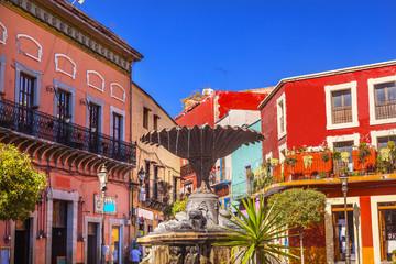Baratillo Square Guanajuato Mexico