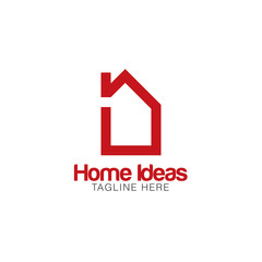 Home Idea Creative Concept Logo Design