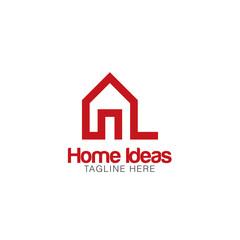 Home Idea Creative Concept Logo Design