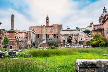 Le Forum Romain à Rome