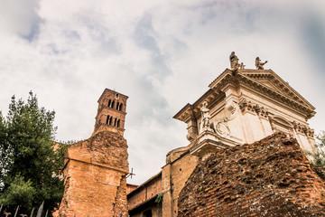 Basilique Sainte-Françoise Romaine dans le Forum Romain