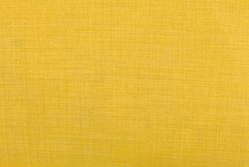 Close Up Background of Yellow Textile Texture