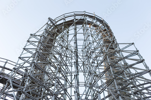 Balder Roller coaster at Liseberg Amusement Park  Gothenburg, Sweden