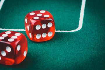 Rote Spiel Würfel Casino