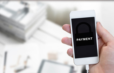Payment Electronic E-commerce Concept