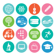 Bildung und Studium Symbol