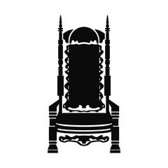 public building icon vector
